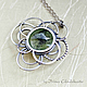 Pendant 'green Flash on the Sun'. Pendants. Taniri Jewelry. Online shopping on My Livemaster.  Фото №2