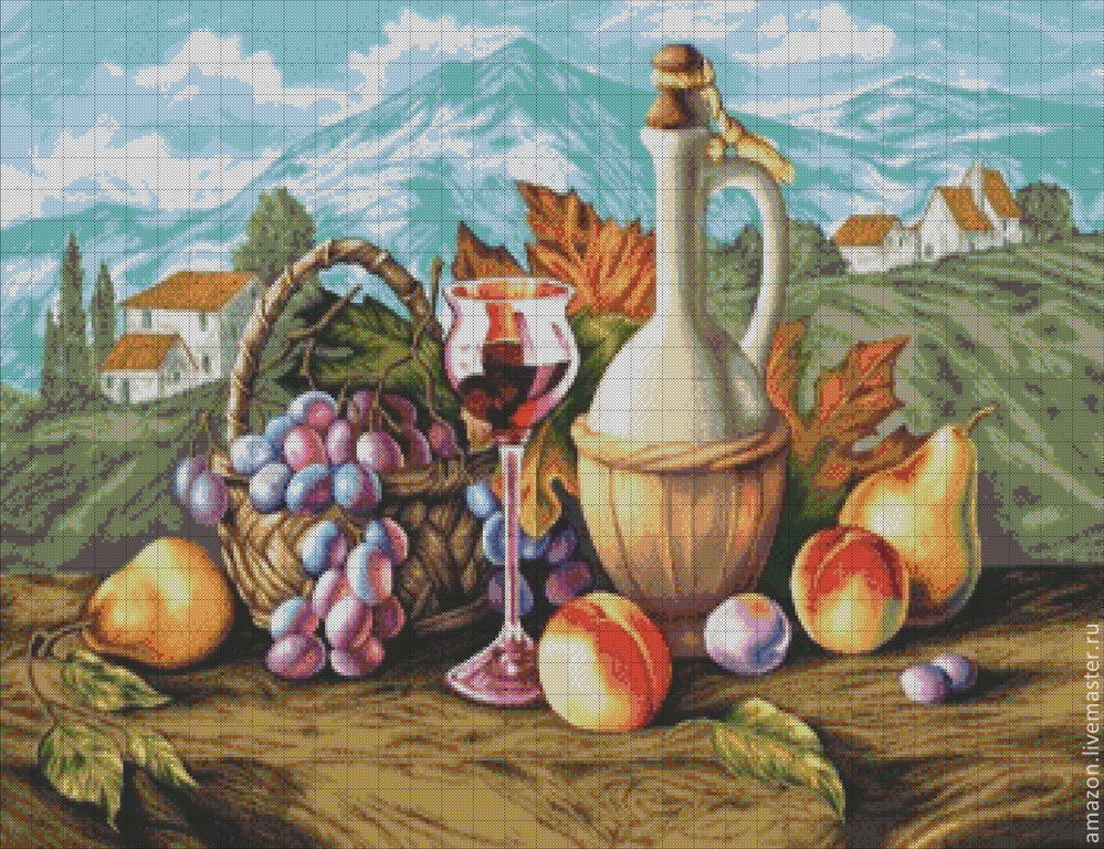 Kit embroidery with beads 'Provence' full lining with beads, Embroidery kits, Ufa,  Фото №1