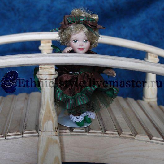 Кукольный дом ручной работы. Ярмарка Мастеров - ручная работа. Купить Кукольный мост. Handmade. Бежевый, кукольные аксессуары