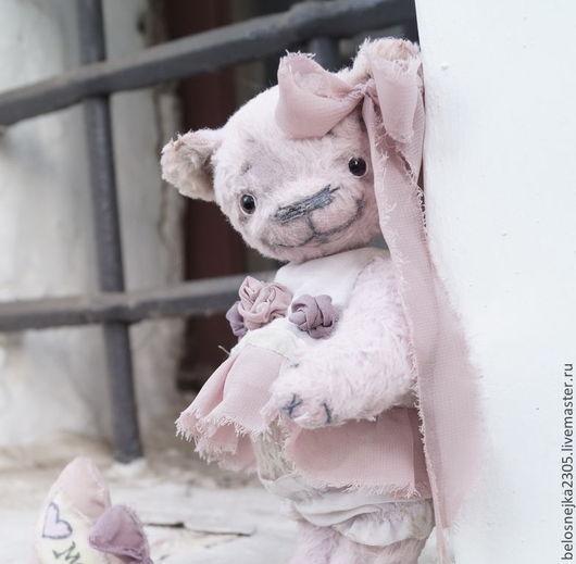 Мишки Тедди ручной работы. Ярмарка Мастеров - ручная работа. Купить мишка тедди Солнышко. Handmade. Розовый, мишка-тедди