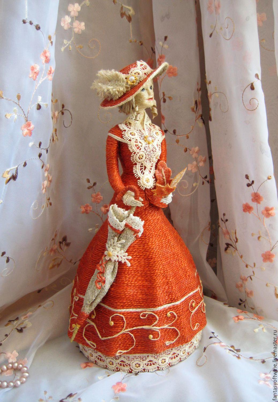 Куклы из джута своими руками 51