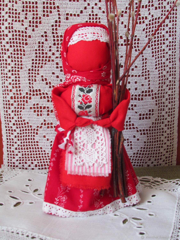 Кукла ВЕРБНИЦА, Народная кукла, Санкт-Петербург,  Фото №1
