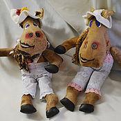 Куклы и игрушки ручной работы. Ярмарка Мастеров - ручная работа Гражданка Лошадка. Handmade.
