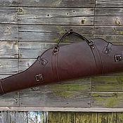 Сувениры и подарки handmade. Livemaster - original item Case for a carbine with optics, mod.2 Lux, Buttero Alkantara. Handmade.