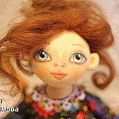 Куклы и игрушки ручной работы. Ярмарка Мастеров - ручная работа Игровая кукла Дина. Текстильная кукла.. Handmade.