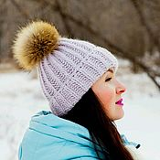 Аксессуары handmade. Livemaster - original item Knitted hat Angy Lilo X. Handmade.