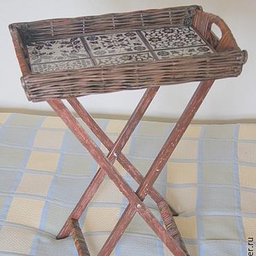 Для дома и интерьера ручной работы. Ярмарка Мастеров - ручная работа Столик-трансформер. Handmade.