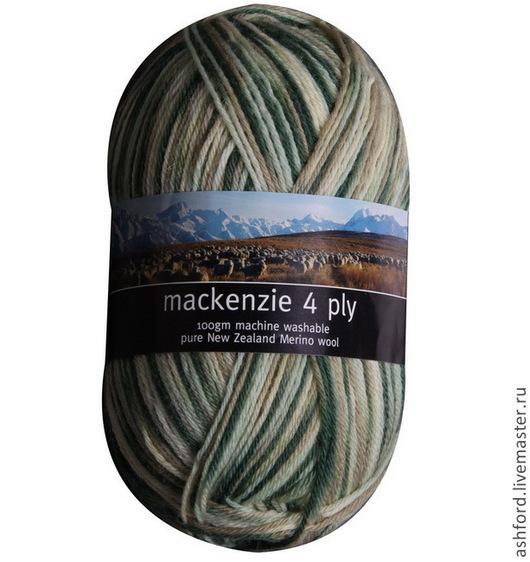 """Вязание ручной работы. Ярмарка Мастеров - ручная работа. Купить Пряжа для вязания меланж : """"Заросли"""",100 g.. Handmade."""