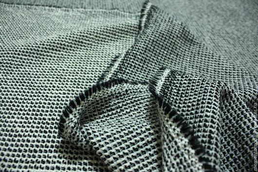 """Шитье ручной работы. Ярмарка Мастеров - ручная работа. Купить Ткань костюмная шанель """"мелкий квадратик"""" с люрексом. Handmade."""