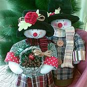 Подарки к праздникам ручной работы. Ярмарка Мастеров - ручная работа Снеговички: Энн и Готфрид Шееманн. Handmade.
