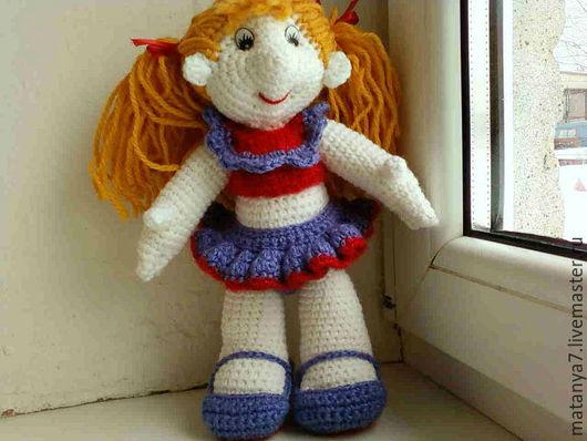Человечки ручной работы. Ярмарка Мастеров - ручная работа. Купить Кукла Ляля. Handmade. Фиолетовый, кукла интерьерная, куклы и игрушки