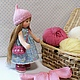 Вальдорфская игрушка ручной работы. Куколка для Нины, 23 см. svetlana. Ярмарка Мастеров. Игровая кукла, кукла интерьерная