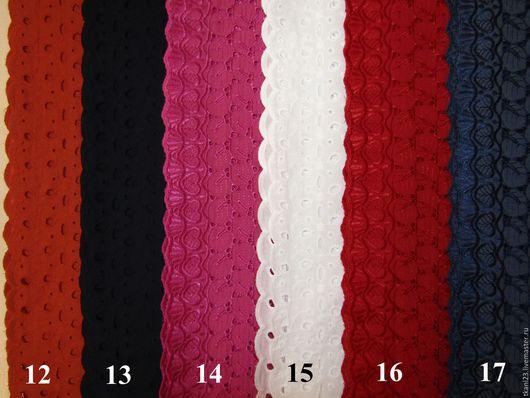 Шитье ручной работы. Ярмарка Мастеров - ручная работа. Купить Батист шитье вышивка сплошная арт.163 КТВ (Корея). Handmade.