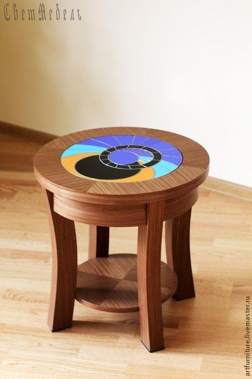 Мебель ручной работы. Ярмарка Мастеров - ручная работа. Купить Журнальный столик кофейный стол Пражский кофе. Handmade.