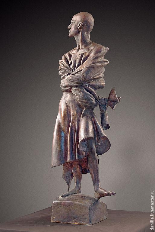 Персональные подарки ручной работы. Ярмарка Мастеров - ручная работа. Купить Интерьерная скульптура.  Связанный.. Handmade. Скульптура, связанный