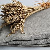 Для дома и интерьера handmade. Livemaster - original item Towel made of softened boiled flax