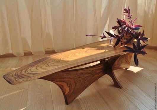 Мебель ручной работы. Ярмарка Мастеров - ручная работа. Купить Столик из массива дуба ручной работы. Handmade. Столик из дерева
