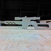 Материалы для творчества ручной работы. Ярмарка Мастеров - ручная работа СВД-Игрушка оружие (Снайперская винтовка Драгунова). Handmade.