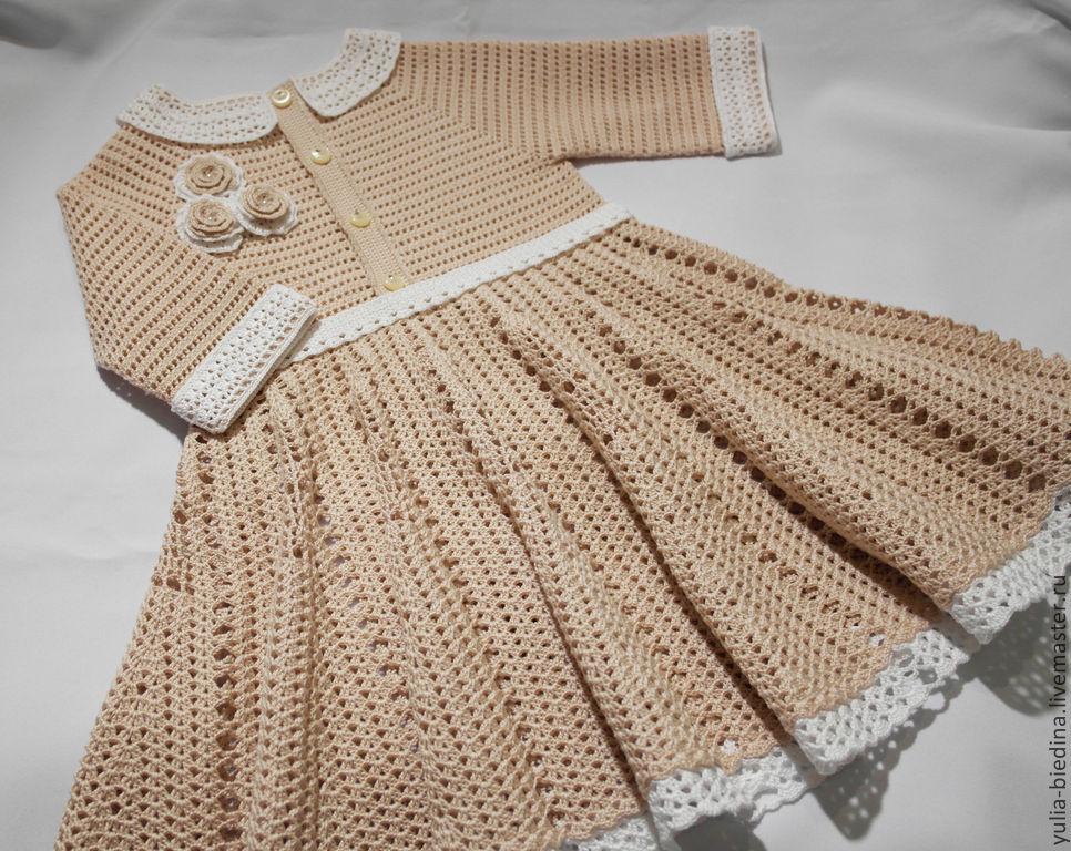 钩针:茱莉亚的童裙 - maomao - 我随心动