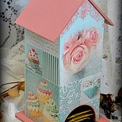 """Для дома и интерьера ручной работы. Ярмарка Мастеров - ручная работа Чайный домик """"Ванильный"""". Handmade."""