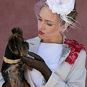 """Для домашних животных, ручной работы. Ярмарка Мастеров - ручная работа Ошейник""""Golden Greta"""". Handmade."""