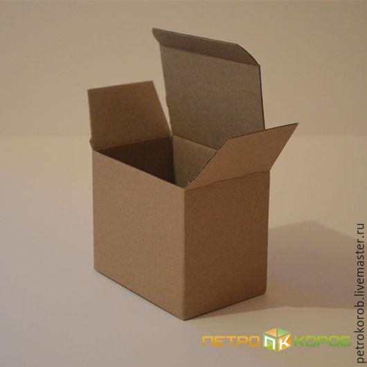 Упаковка ручной работы. Ярмарка Мастеров - ручная работа. Купить Самосборная коробка 032  17,8х7,2х12,7см. Handmade.