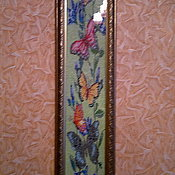 Картины ручной работы. Ярмарка Мастеров - ручная работа Картина «Бабочки » бисер. Handmade.