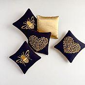 Сувениры и подарки handmade. Livemaster - original item Sachet with embroidery