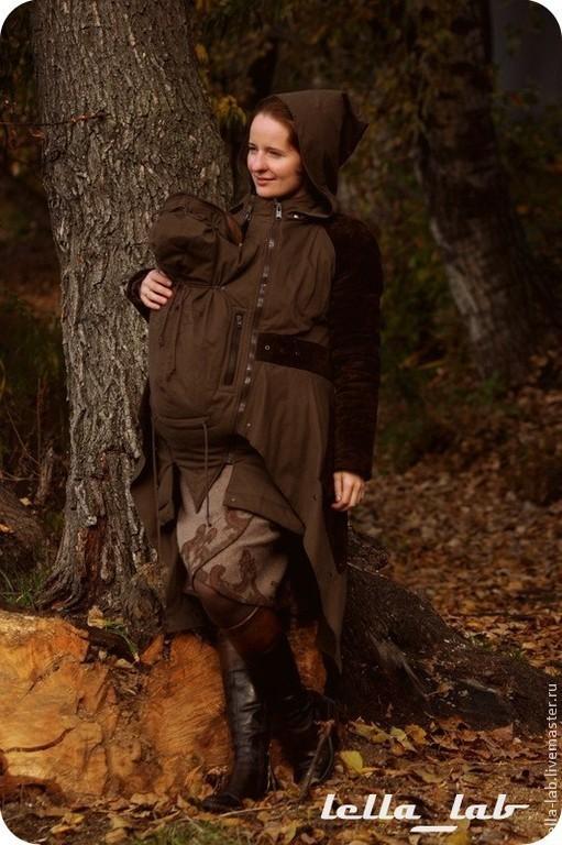 """Верхняя одежда ручной работы. Ярмарка Мастеров - ручная работа. Купить Пальто / слингопальто демисезонное """" Келтик - фьюжн """". Handmade."""