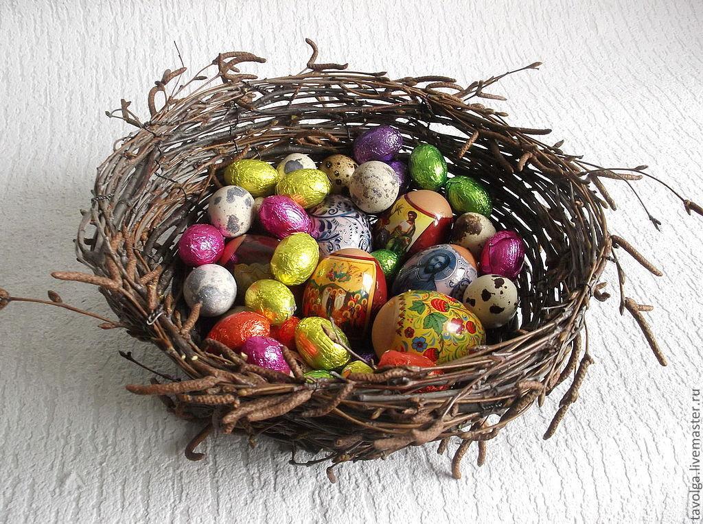 Гнездо для пасхальных яиц, Пасхальные сувениры, Москва,  Фото №1