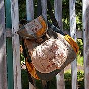 """Сумки и аксессуары ручной работы. Ярмарка Мастеров - ручная работа Муми-рюкзак """"По дороге с Туве"""". Handmade."""
