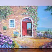 Картины и панно handmade. Livemaster - original item Oil painting Provence 40/50 cm. Handmade.