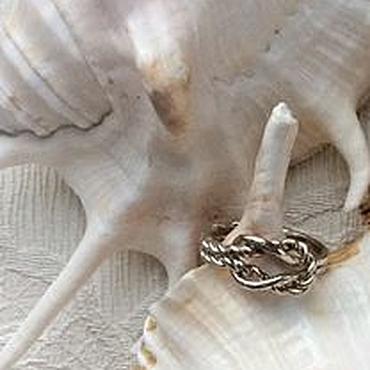 Украшения ручной работы. Ярмарка Мастеров - ручная работа Морской узел. Handmade.