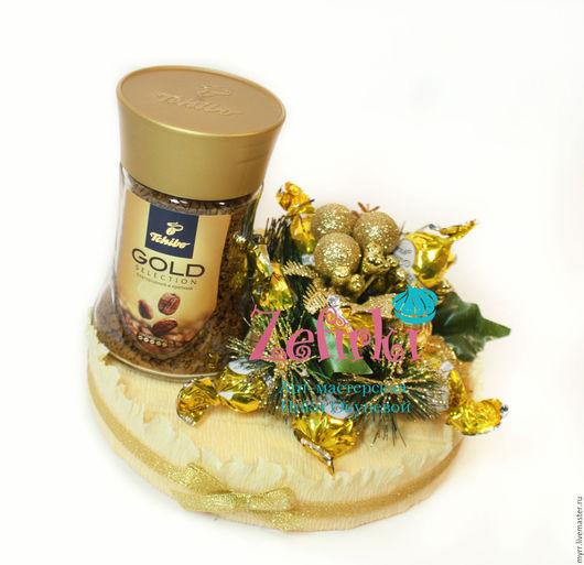 Новый год 2017 ручной работы. Ярмарка Мастеров - ручная работа. Купить Кофе с конфетами корпоративные подарки Подарок на новый год обезьяны. Handmade.