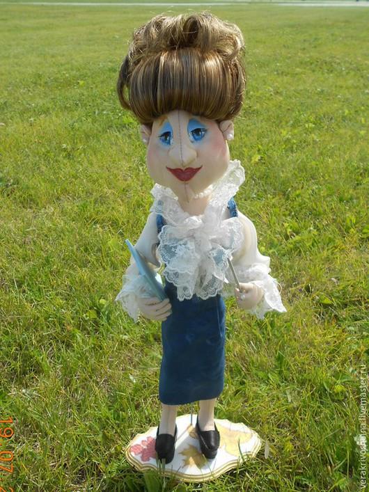 Коллекционные куклы ручной работы. Ярмарка Мастеров - ручная работа. Купить Мария Ивановна. Handmade. Синий, сувениры и подарки
