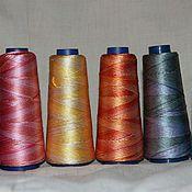 Материалы для творчества ручной работы. Ярмарка Мастеров - ручная работа Шелковые нитки для вязания (Releed Silk) Индия. Handmade.