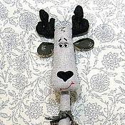 Куклы и игрушки ручной работы. Ярмарка Мастеров - ручная работа Лосик с мешком. Handmade.
