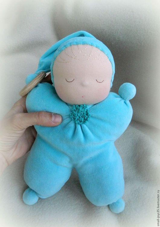 Вальдорфская игрушка ручной работы. Ярмарка Мастеров - ручная работа. Купить Игровая кукла Лавандовый малыш. Handmade. Игровая кукла