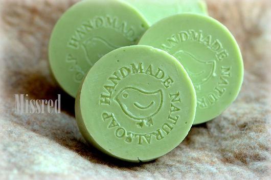 """Мыло ручной работы. Ярмарка Мастеров - ручная работа. Купить Натуральное мыло Яблоко. Мыло, сваренное """"с нуля"""".. Handmade."""