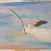 Картины и панно ручной работы. Ярмарка Мастеров - ручная работа Картина Воздушная. Handmade.