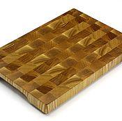 Для дома и интерьера handmade. Livemaster - original item End cutting Board №148. Handmade.