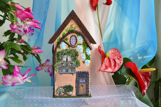 Кухня ручной работы. Ярмарка Мастеров - ручная работа. Купить Чайный домик цветущий сад. Handmade. Комбинированный, чайный, для чаепития
