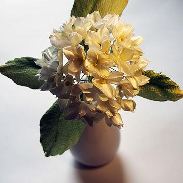 Flowers and floristry handmade. Livemaster - original item Flowers: Hydrangea white silk.. Handmade.