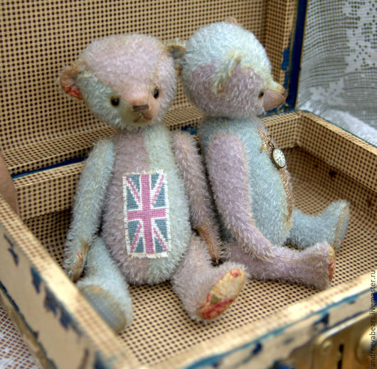 """Мишки Тедди ручной работы. Ярмарка Мастеров - ручная работа. Купить Мишка """"ЮнионДжек"""". Handmade. Разноцветный, мишка, англия"""