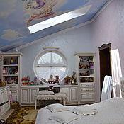 Для дома и интерьера ручной работы. Ярмарка Мастеров - ручная работа Шторы для девичьей спальни. Handmade.