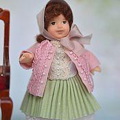 Куклы и игрушки ручной работы. Ярмарка Мастеров - ручная работа Кукла миниатюрная  1:12. Handmade.