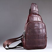 Сумки и аксессуары handmade. Livemaster - original item Crocodile leather shoulder bag IMA0507VK4. Handmade.