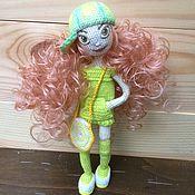 Куклы и игрушки ручной работы. Ярмарка Мастеров - ручная работа Кукла каркасная крючком. Handmade.