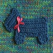 Для домашних животных, handmade. Livemaster - original item Green vest with applique