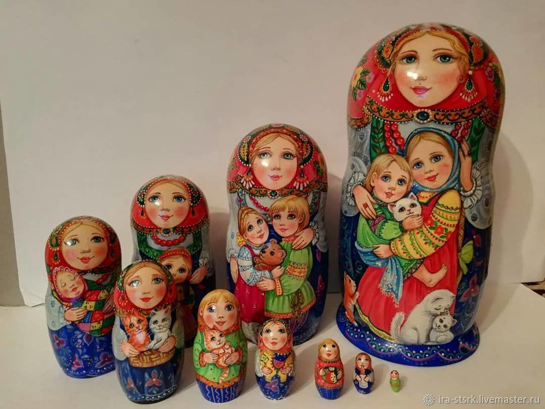 """Матрена с детками """"Обнимашки"""", Матрешки, Витебск,  Фото №1"""